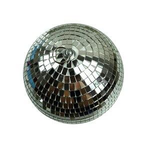 Image 4 - 1 個直径 10/12/15/20 センチメートルミラーボール反射装飾ボールバーディスコボールウェディングガラスボールケーキ装飾ゴールド/ホワイト