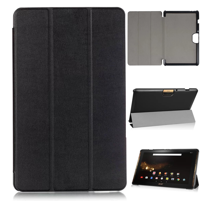 Magnet Stand pu leather Case cover for Acer Iconia tab 10 A3-A40 A3 A40 10.1 tablet case for acer A3-A40 + screen film +stylus