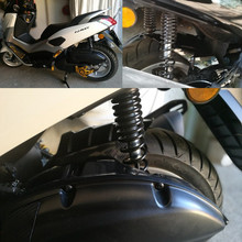 Gewijzigd Motorfiets accessoires nmax155 fendders nmax achterspatbord spatbord tire hugger voor YAMAHA nmax NMAX155 NMAX 2016-2019
