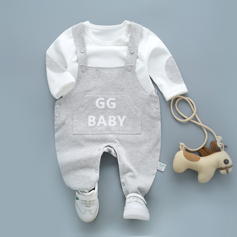 Letter Print Spring Baby Pants Overalls Baby Boy For Baby Girl Leggings Newborn Clothes Toddler Baby Boy Trousers Infant Legging letter print knot front top