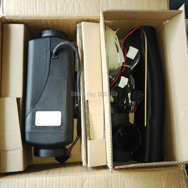 4KW 12 24V park ısıtıcısı Motor ev \ tekne, Van \ karavan, kamyon \ bus Webasto ile benzer ve Eberspaecher AIRTRONIC D4.