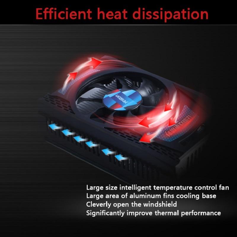 Yeston Radeon R7 200 Series R7 240 GPU 4GB GDDR5 128bit Gaming