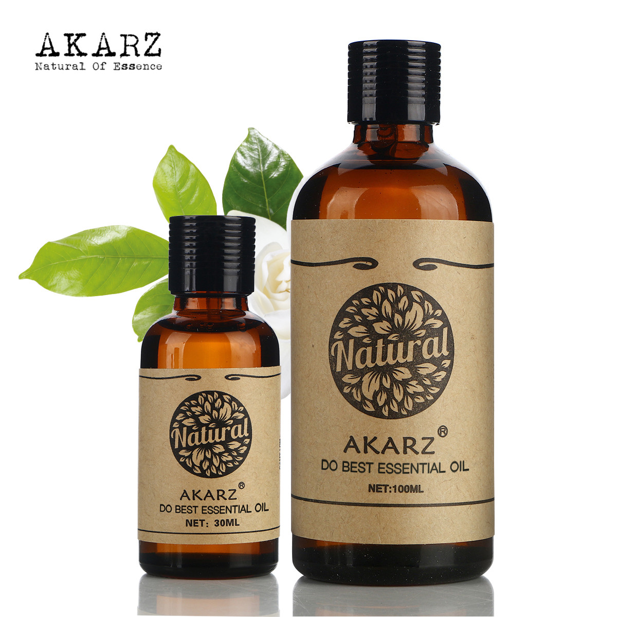 AKARZ Famous brand Moisturize Remove acnes SET Tea tree essentail oil (30ml) Jojoba oil(100ml),Fade acne marks body massage akarz famous brand tea tree essential oil natural treatment for adults organic skin body massage care tea tree oil
