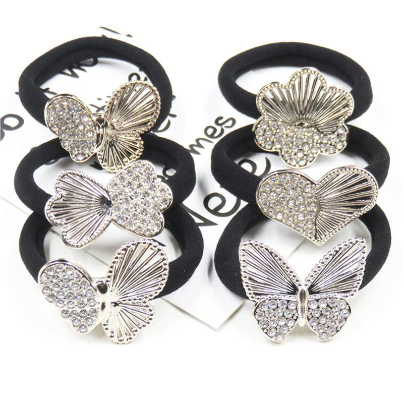 1PCS Butterfly LOVE Hair Accessories For Women Headband,Elastic Bands For Hair For Girls,Hair Band Hair Ornaments For Kids