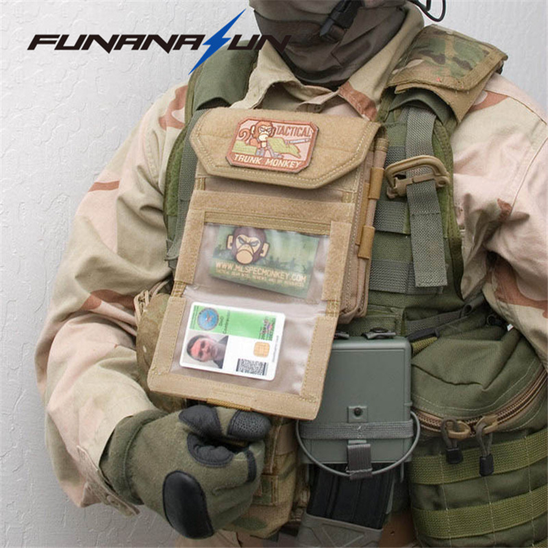 Military Molle Admin Front Vest Ammo Storage Pouch Magazine Utility Belt Waist Bag For H ...