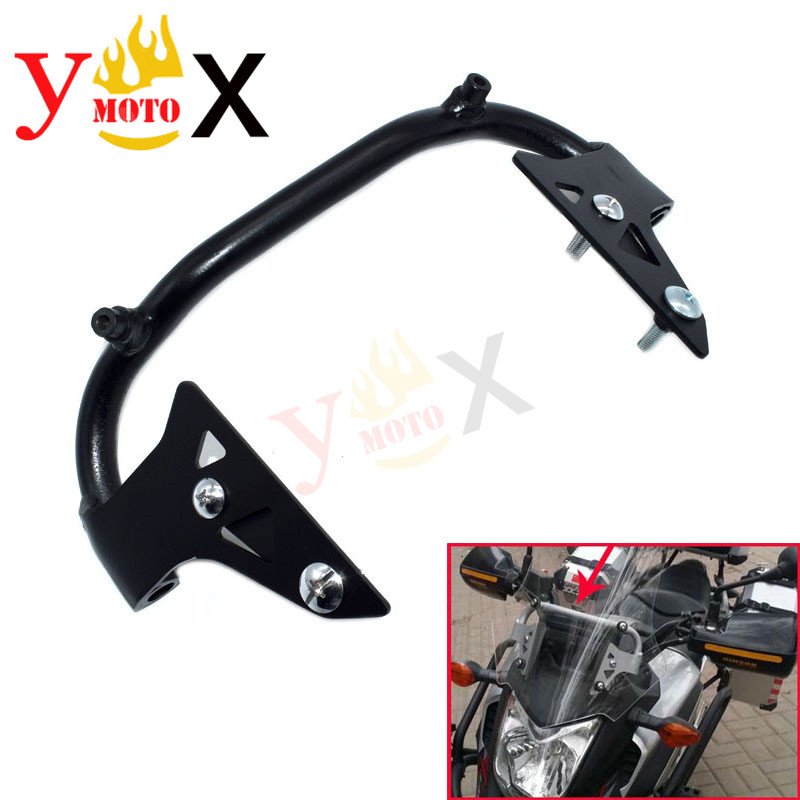 NC700X NC750X Motorcycle Modified Windshield Bracket Windscreen Holder Air Deflector Mounting For <font><b>Honda</b></font> <font><b>NC</b></font> <font><b>700X</b></font> 750X 2011-2015 image