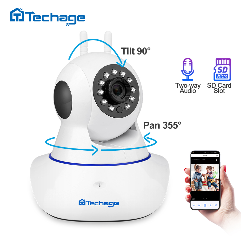 Techage Yoosee 1080P Wireless IP Camera Pan/Tilt 2MP Dome