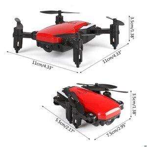 Image 5 - Mini LF606 Pieghevole Wifi FPV 2.4GHz 6 Axis RC Quadcopter Drone Elicottero Giocattolo facile da regolare la frequenza