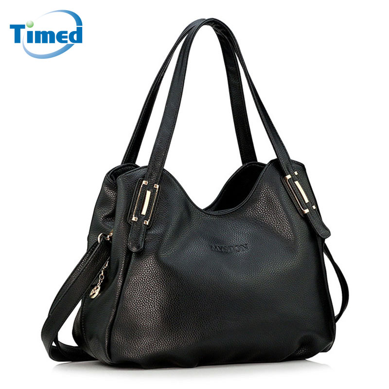2018 New Arrival Women's Casual Classic Handbags Simple Shoulder Messenger Bag Vintage Pu Leather Bags For Female Hot Sale memunia  new arrival simple pu leather