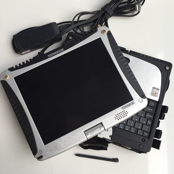 car diagnostic computer cf-19 toughbook cf19 touch screen 4g second hand with battery without hdd mb star c3 c4 for bmw icom
