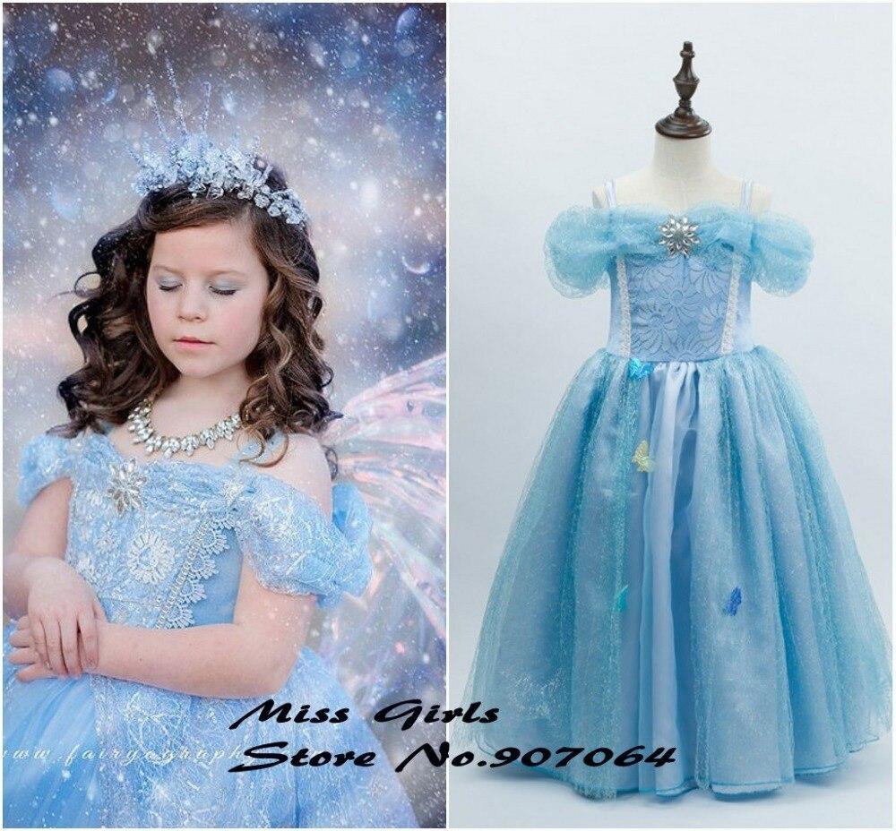 EMS DHL Free Cinderella Wholesale Little Girls Princess Party ...