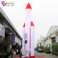 Personalized 33 feet height large inflatable space rocket decorative 10 meters inflatable rocket ship toys
