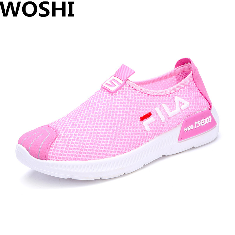 Women Casual Air mesh light-weight breathable Shoes Fashion comfortable outdoor walking Shoes Women Summer Female size 35-40 w4 summer fashion women casual shoes 2018 new air mesh breathable ulzzang harajuku flat women coconut shoes brand hot women loafers