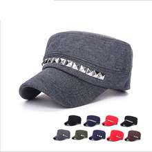 Fall Winter Classic Vintage Women Men Patrol Military Army Cap Cotton Adjustable Outdoor Sports Sun Casual Military Hats For Man
