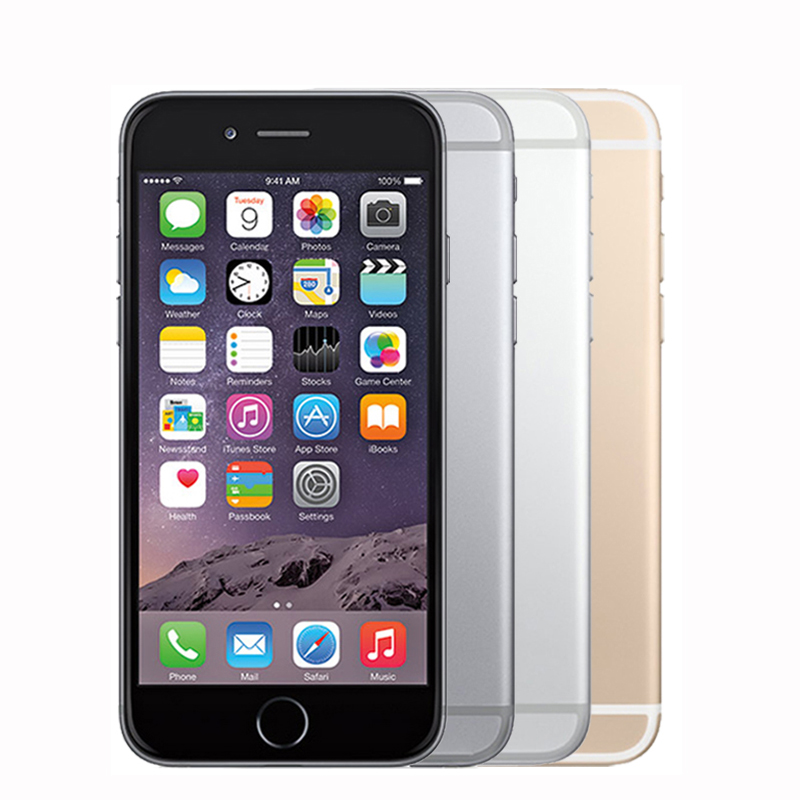 "Image 4 - Unlocked Original Apple iphone 6 Plus SmartPhone Wifi Single Sim Dual Core 16G/64/128GB ROM IOS 8MP Video LTE Fingerprint 5.5""-in Cellphones from Cellphones & Telecommunications"
