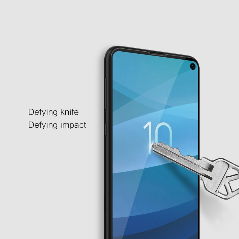 Image 5 - Nillkin For samsung galaxy s10/s10 plus/s10e tempered glass screen protector fully covered 3D CP+ Max 9H 0.33mm 5.8/6.11/6.4-in Phone Screen Protectors from Cellphones & Telecommunications on