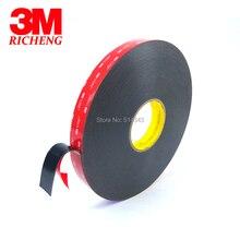 1Roll/Lot 3M VHB 5952 Heavy Duty Double Sided Adhesive Acrylic Foam Tape Black 15MMx33Mx1.1MM