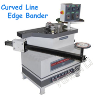 Curved Line Edge Banding Machine Manual Swing Arm Edger Woodworking Edge Banding Machine Desktop Curve Wrapping