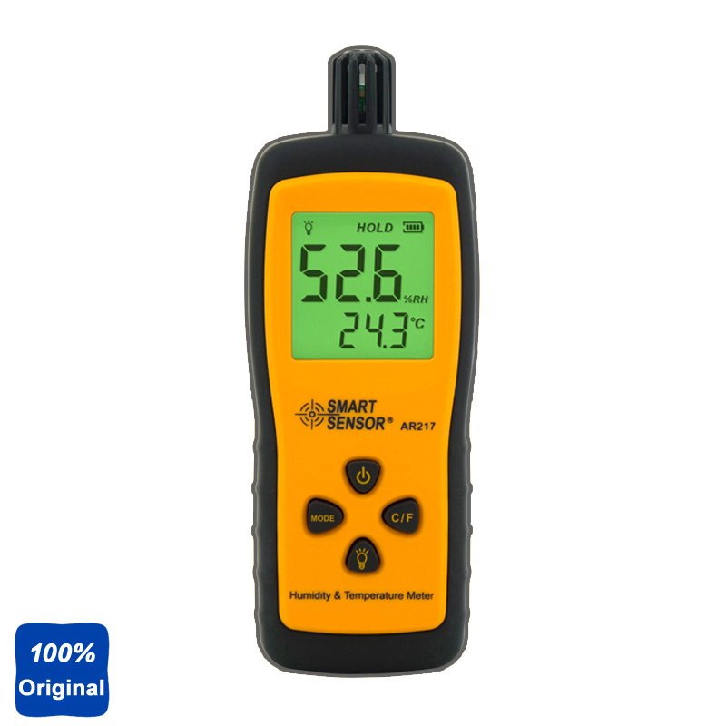 100% Original AR217 Mini-Type Humidity Temperature Meter Handheld Hygrometer Thermometer Tester mini type humidity temperature meter handheld hygrometer thermometer tester