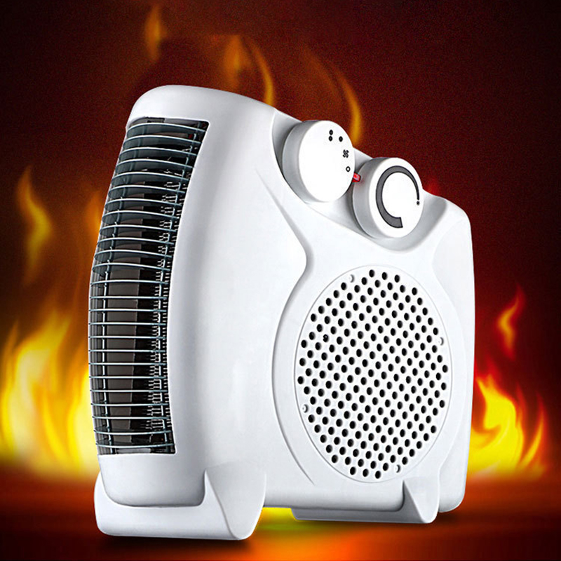 Kbxstart 500W Handy Mini Electric Heater Fan Portable Space Home Office Room Winter Warmer Air Heater 220V Aquecedor De Ambiente electric portable heater handy durable mini room fan indoor ceramic space heater electric winter warmer fan for office home 220v