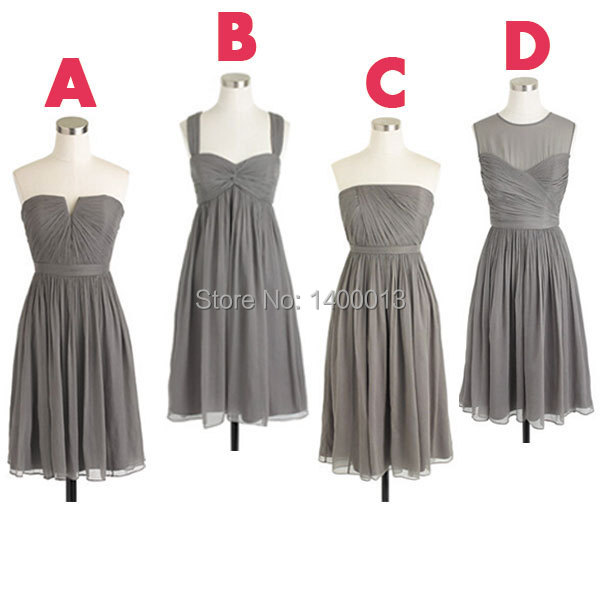gray dresses for bridesmaids page 6 - gown
