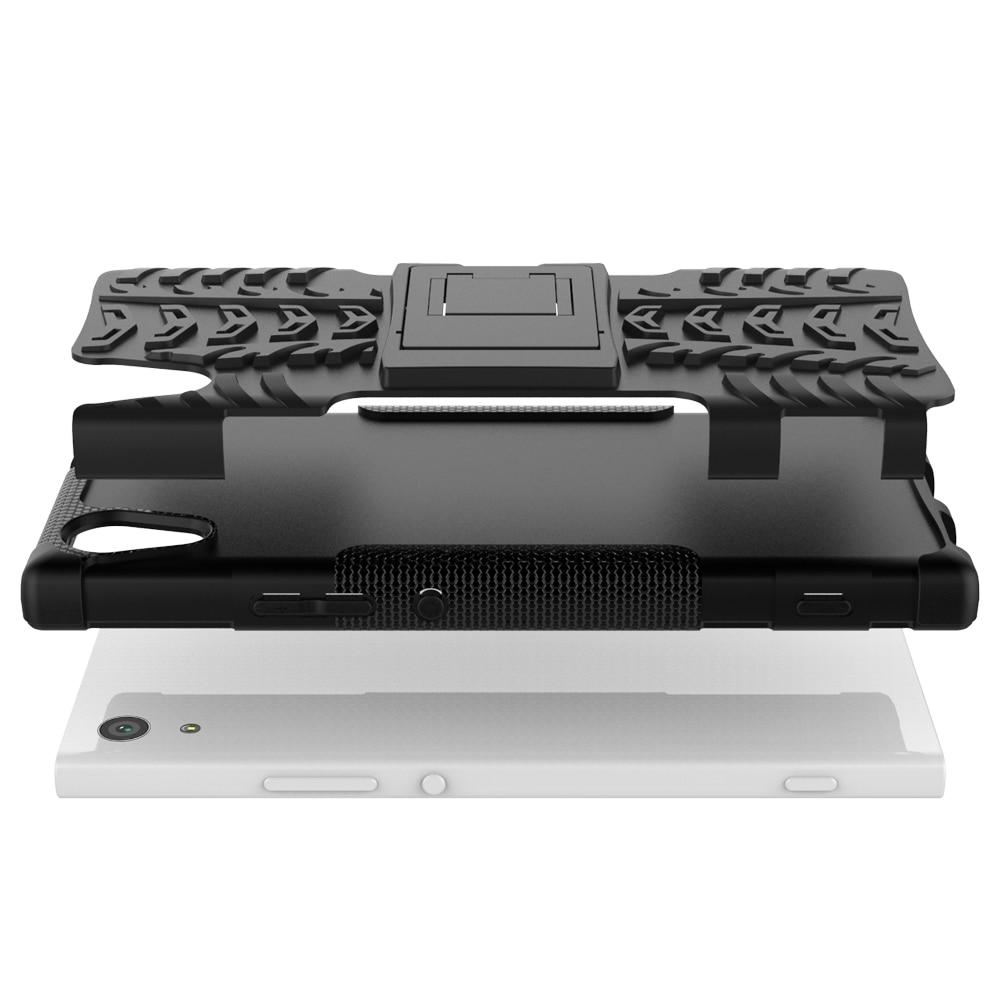 Sony Xperia XA1 G3121 G3123 G3125 Case Hybrid TPU + PC Armour Hard - Բջջային հեռախոսի պարագաներ և պահեստամասեր - Լուսանկար 5