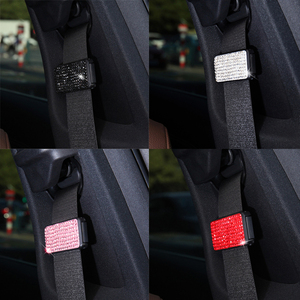 Image 2 - 1 Pcs Car Seatbelt Shoulder Pad Clips Comfortable Driving Seat Belt Vehicle Shoulder Pad Cover Cushion Harness Pad Clip