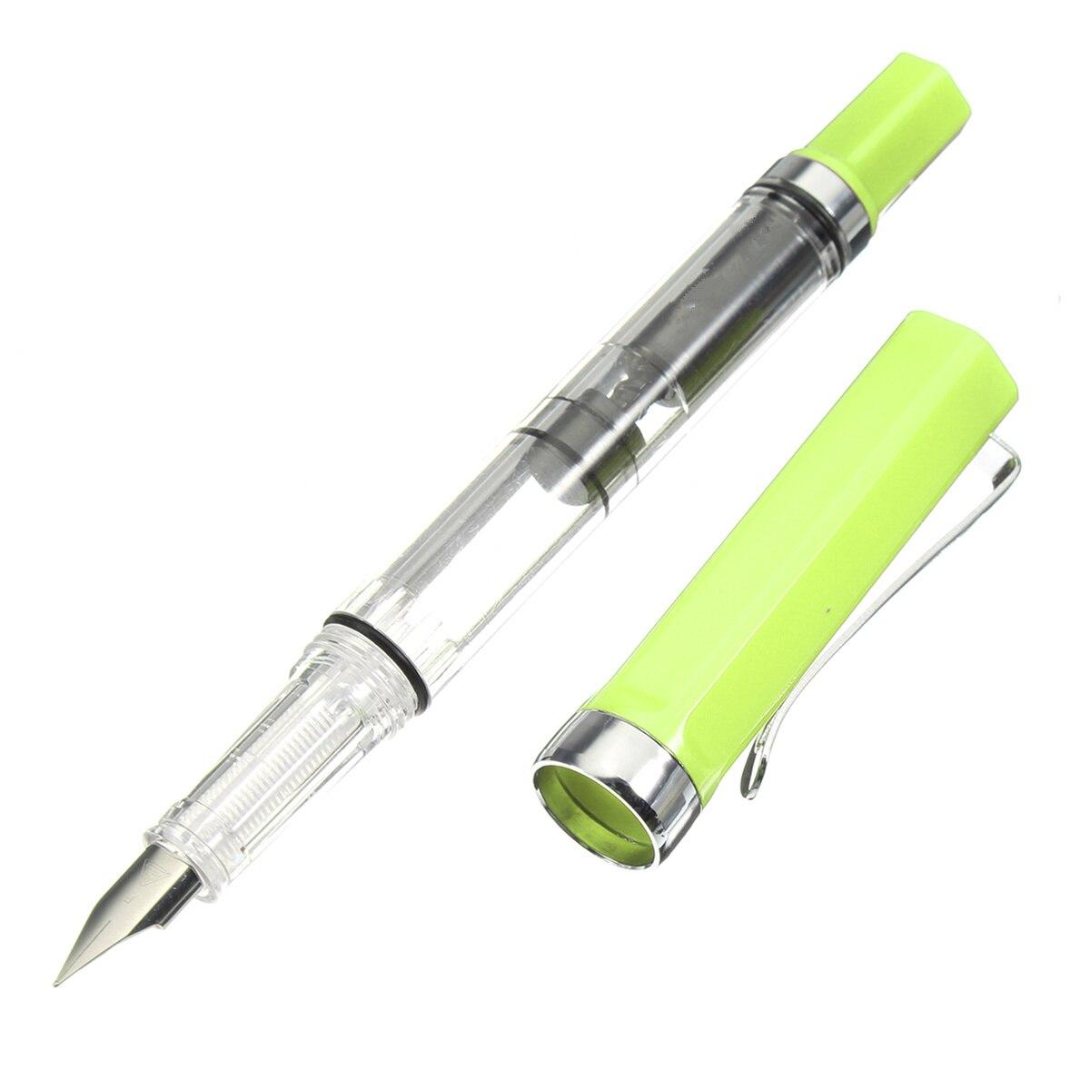 Kicute 4 шт./лот 0.38/0.5 мм тонкий наконечник спираль желчного пузыря Перьевые ручки Школа канцелярских принадлежности для студентов подарки