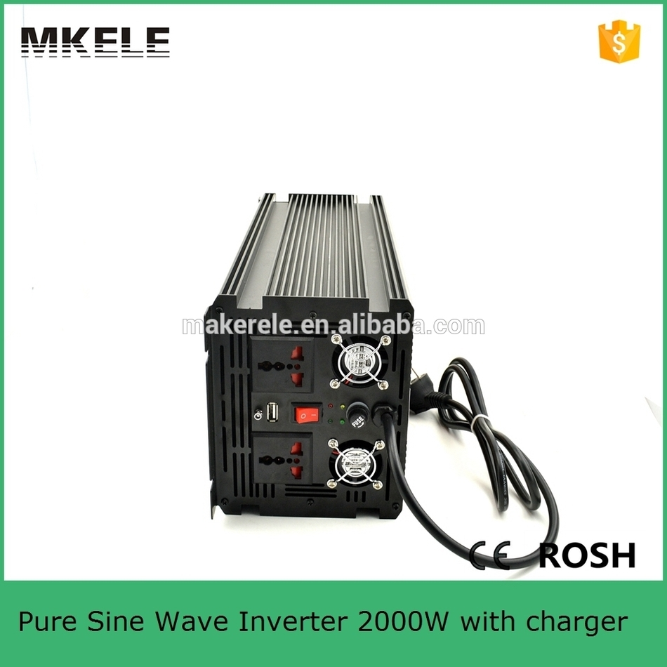 цена на MKP2000-121B-C off grid pure sine wave 2kva inverter 12vdc to 110vac inverter dc to ac power inverter with battery charger
