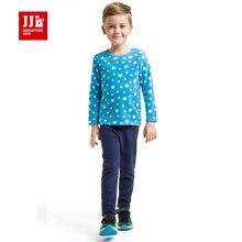 Дети пижамы мальчиков пижамы звезды распечатать теплый меховой подкладке детей домашняя одежда мальчики пижамы бренд дети pijamas зима 2015