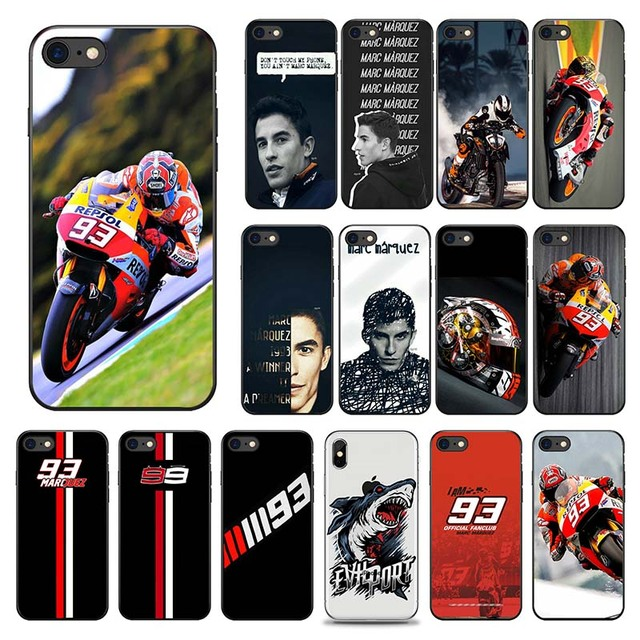 competitive price 79cbe 3a2f4 US $0.97 27% OFF|Valentino Rossi Moto GP VR / 46 Soft Case for iPhone 8  8Plus 7 7Plus X Xs Max XR 6 6s Plus 5 5s SE Phone Cover Coque Shell Hull-in  ...