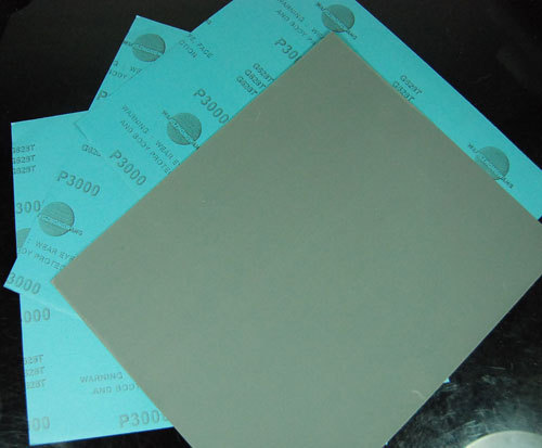 """5 sheets Pack 3000Grit  WET DRY 9"""" x 11""""Sandpaper Waterproof Abrasive Paper Sand #S0017-3000A"""