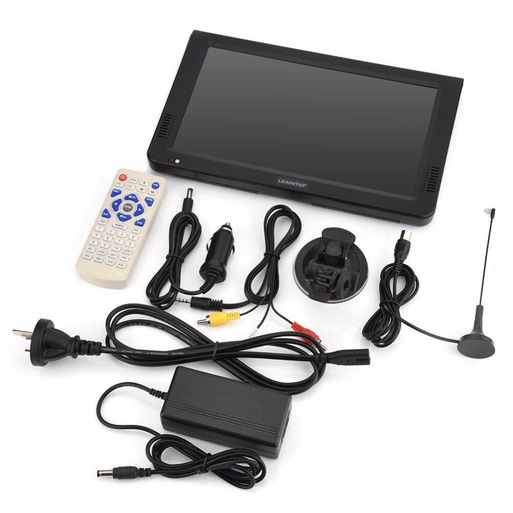 10inch Digital Analog Televisions DVB-T-T2 1024x600 Resolutis