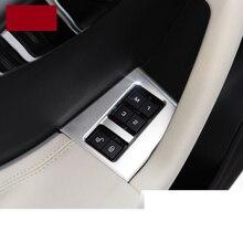 lsrtw2017 Pearl chrome abs car door memory lock panel trims for jaguar f-pace 2016 2017 2018 2019 lsrtw2017 pearl chrome abs car dashboad vent trims for jaguar f pace 2016 2017 2018 2019