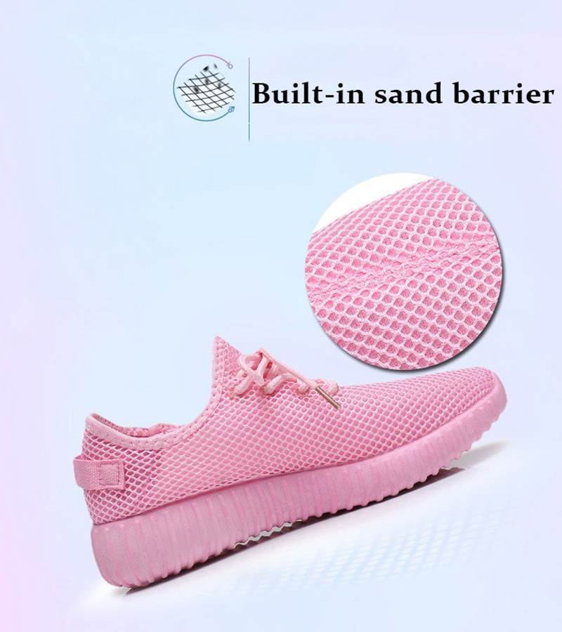 Mesh casual shoes women Breathable Lace Up white sneakers female soft lightweight summer flat Women Vulcanize Shoes 2019 VT243 (4)
