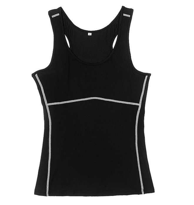 Deporte mujeres compresión pantalones desgaste chaleco camisetas sin mangas de yoga gimnasio damas Fitness entrenamiento Stretch camisas piel corriendo Cami chaleco