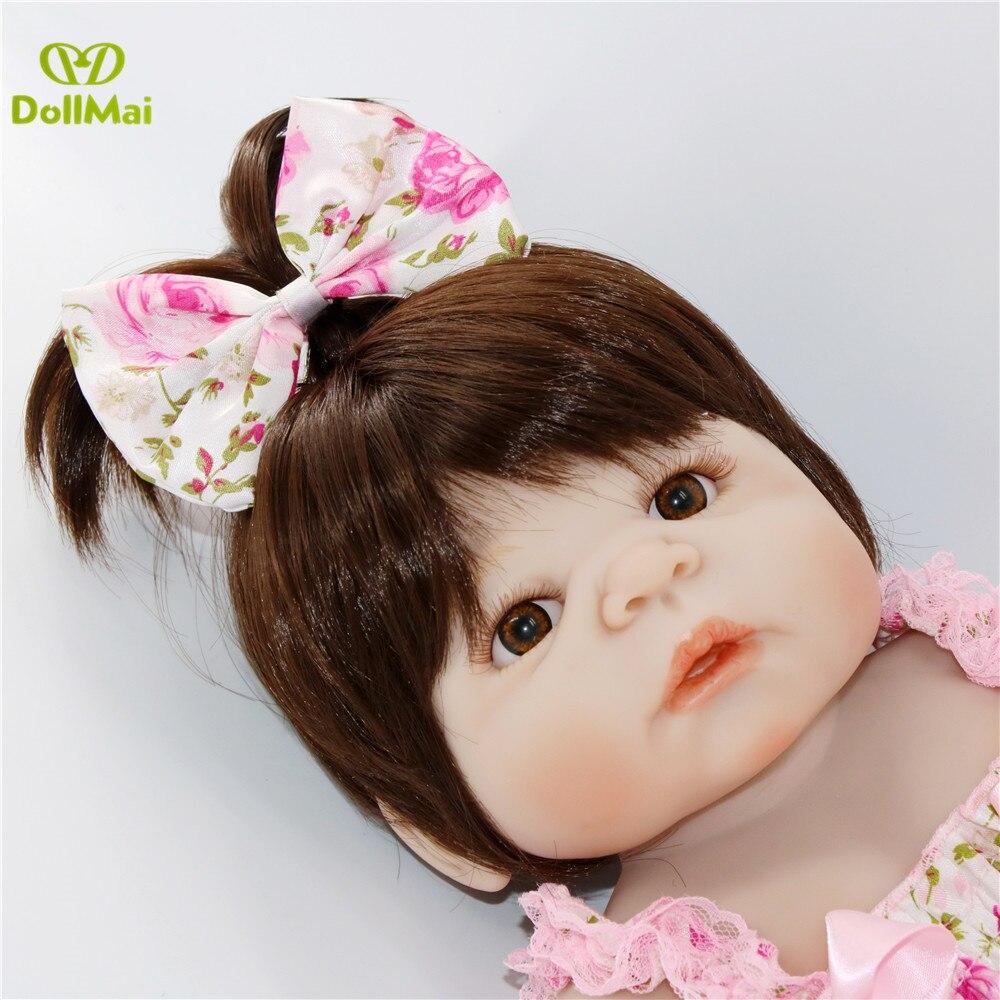 2017 New  22 Handmade Lifelike Reborn Baby Doll Girls Full Body Vinyl Silicone with Pacifier2017 New  22 Handmade Lifelike Reborn Baby Doll Girls Full Body Vinyl Silicone with Pacifier