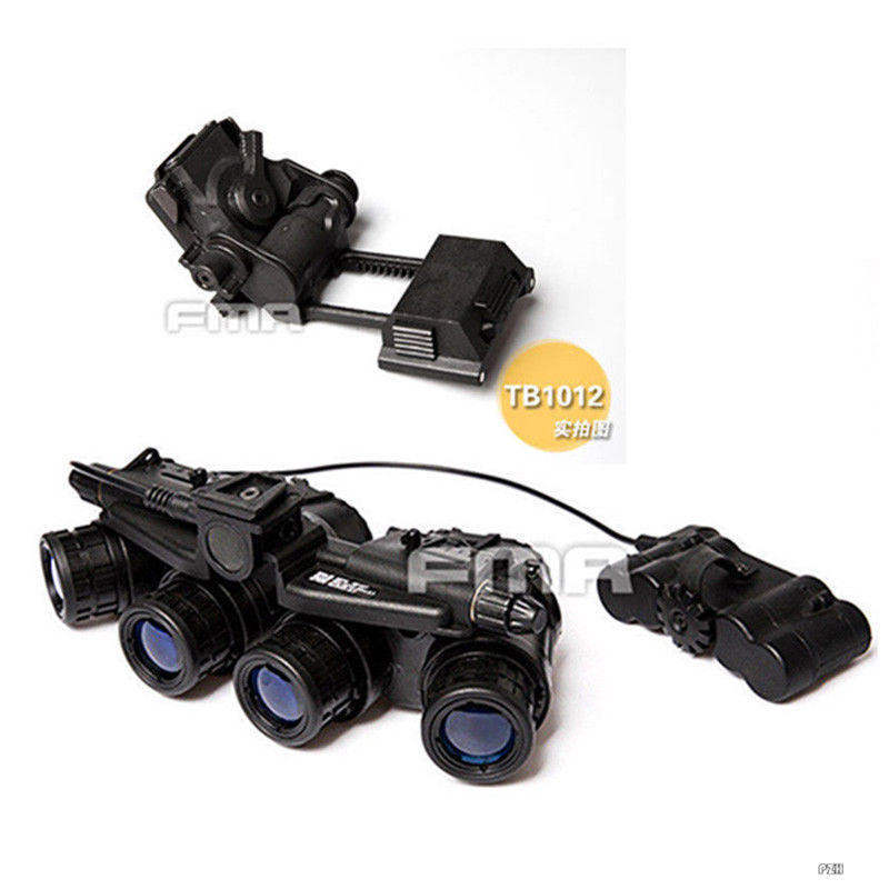 FMA Tactical Airsoft GPNVG 18 NVG Model + Plastic L4G24 NVG Mount Black-in Helmets from Sports & Entertainment    1