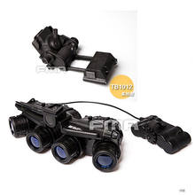 FMA Tactical Airsoft GPNVG 18 NVG modelo + plástico L4G24 NVG montaje negro(China)