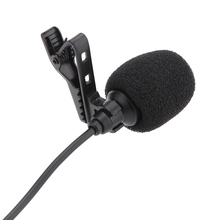 Mini Portable Microphone-Mic Metal Collar-Clip Speaker Computer Lound with for PC Laptop