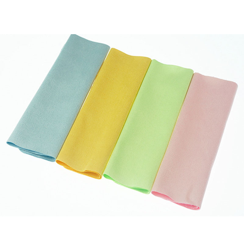 Microfiber Cloth Phone: 5PCS High Quality Colorful Lens Cloth Cleaning Microfiber