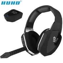 HUHD HW-N8 профессии 7,1 Surround Sound стерео оптического волокна 2.4g беспроводное устройство игровая гарнитура для Xbox One 360 PS4 PC Gamer PUBG