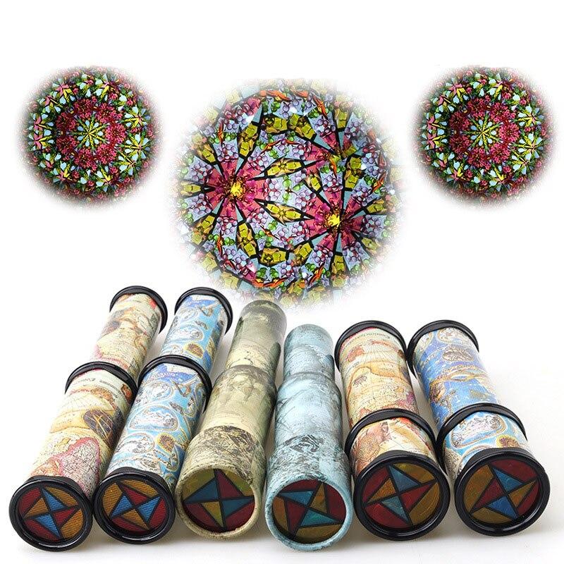30cm Scalable Rotation Kaleidoscope Magic Changeful Adjustable Fancy Colored World Toys
