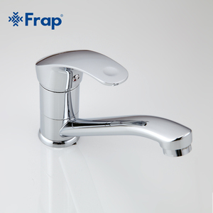 Image 3 - Frap Deck Mounted Kitchen Sink Faucet Hot and Cold Water Chrome/ Mixer Tap 360 degree rotation Basin mixer F4536