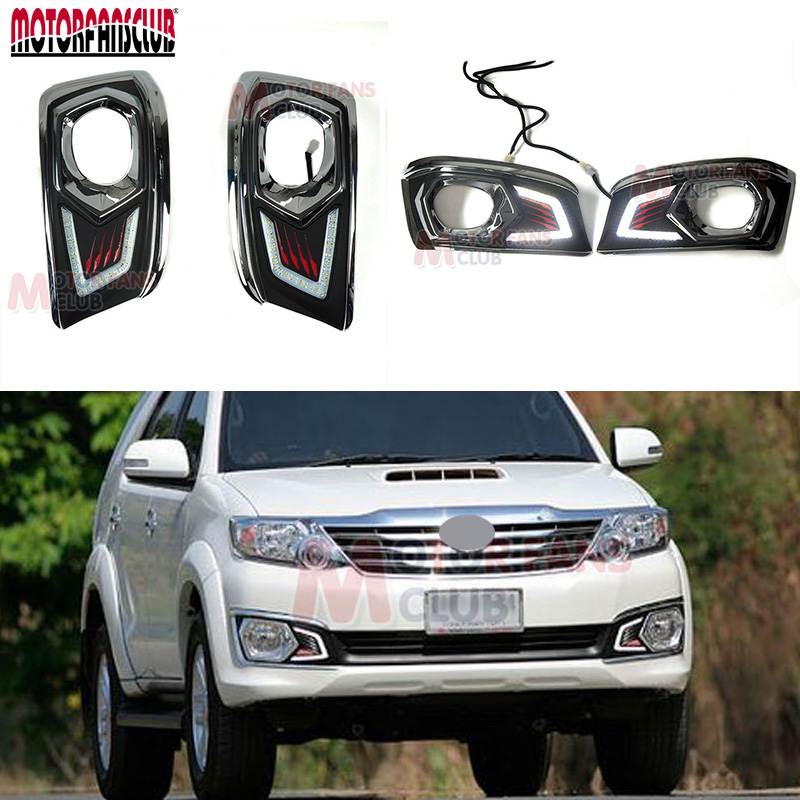 CE, CCC Mark White 6000K~6700K  LED Daytime Running Light For Toyota Fortuner Hilux MK7  2012 2013 Fog Lamp DRL nokia 6700 classic illuvial