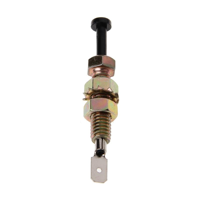 New Useful Universal Zinc Car Alarm Security Adjustable Auto Truck Hood Door Pin Switch