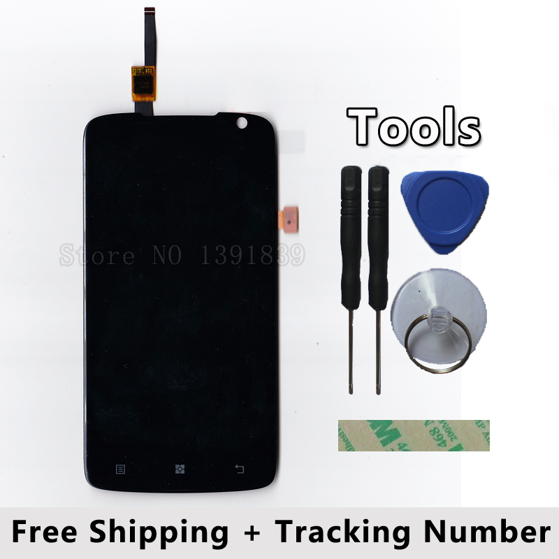 LCD Display + Touch Screen Digitizer Glass Panel For lenovo s820