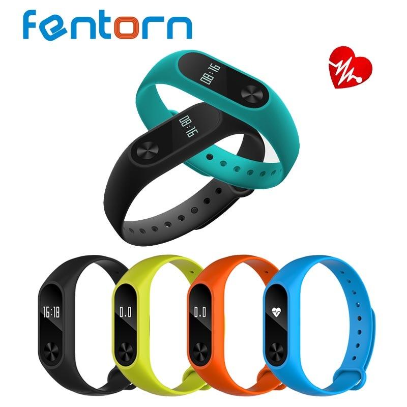 Fentorn Y2 Bluetooth smart Сердечного ритма SmartBand Фитнес трекер Смарт Браслет для Android IOS PK miband 2