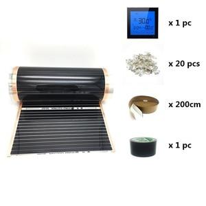 Image 3 - MINCO ความร้อนอินฟราเรด 10m2 ความร้อนฟิล์มไฟฟ้า Underfloor WARM ฟิล์มภายใต้ลามิเนต Solid ชั้น