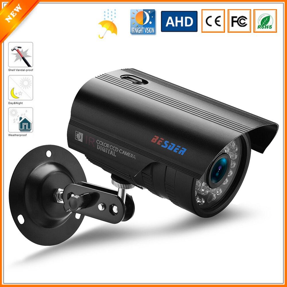 imágenes para BESDER IP67 Impermeable Al Aire Libre Cámara AHD Cámara de La Bala de Vigilancia de Seguridad CCTV 1080 P 960 P 720 P Opcional IR Cut filtro de 36 LED